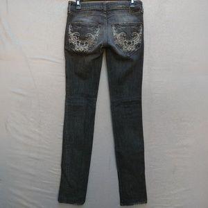 68d5740c Diesel Jeans - Diesel CLUSH Skinny Leg Jeans Long Distressed